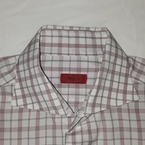 Isaia dress shirt size 16 / 41 made in Italy